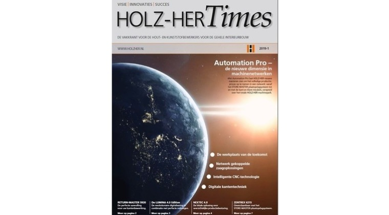 De nieuwe HolzHer Times voorjaarsteditie is uit.