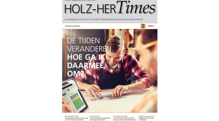 De nieuwe HolzHer Times 2020 is uit.