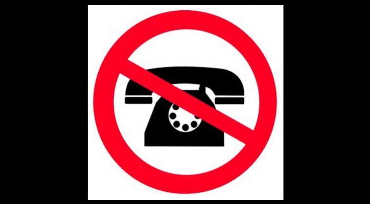 Storing; telefonisch niet bereikbaar.