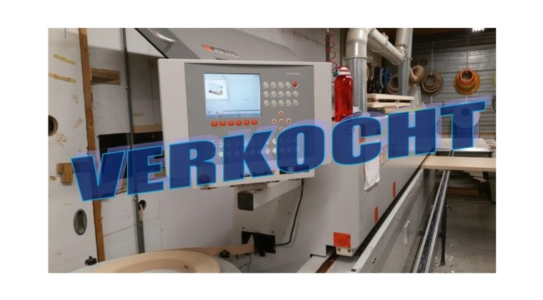 Gebruikte kantenaanlijmmachine HolzHer 1317