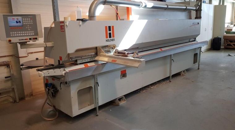 Gebruikte HolzHer kantenaanlijmmachine Arcus1334