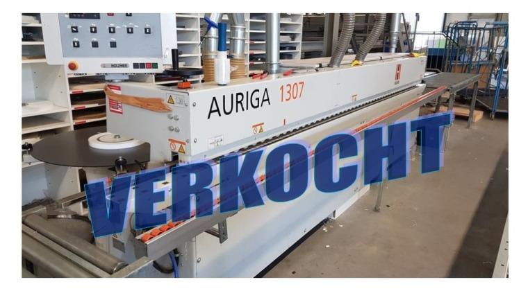 Gebruikte HolzHer Auriga 1307 kantenaanlijmmachine