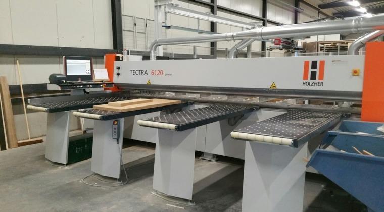 HolzHer Tectra6120 met automatische belading juni 2017.