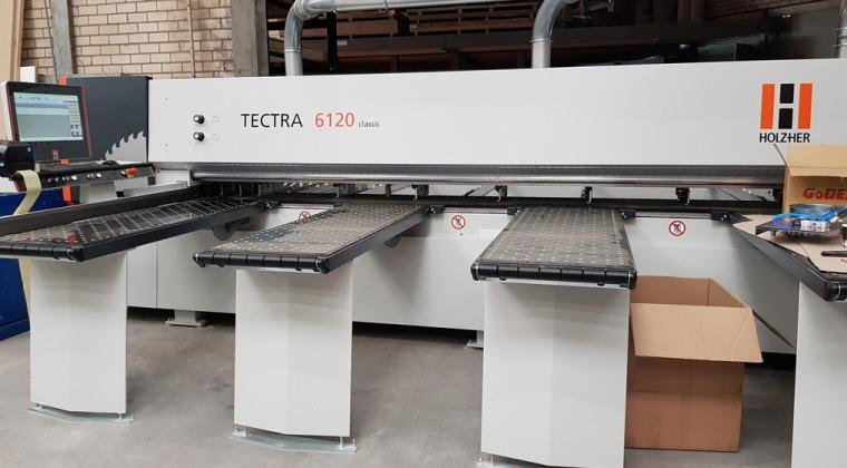 HolzHer Tectra 6120 omgeving Tiel september 2019