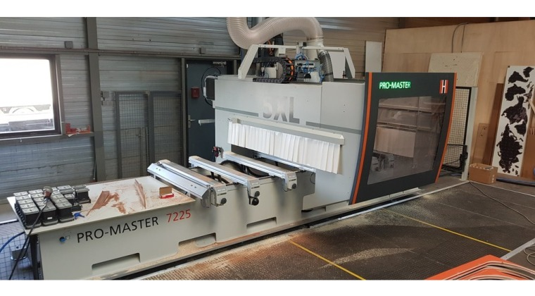 HolzHer Promaster 7225 CNC machine te Ridderkerk december 2019